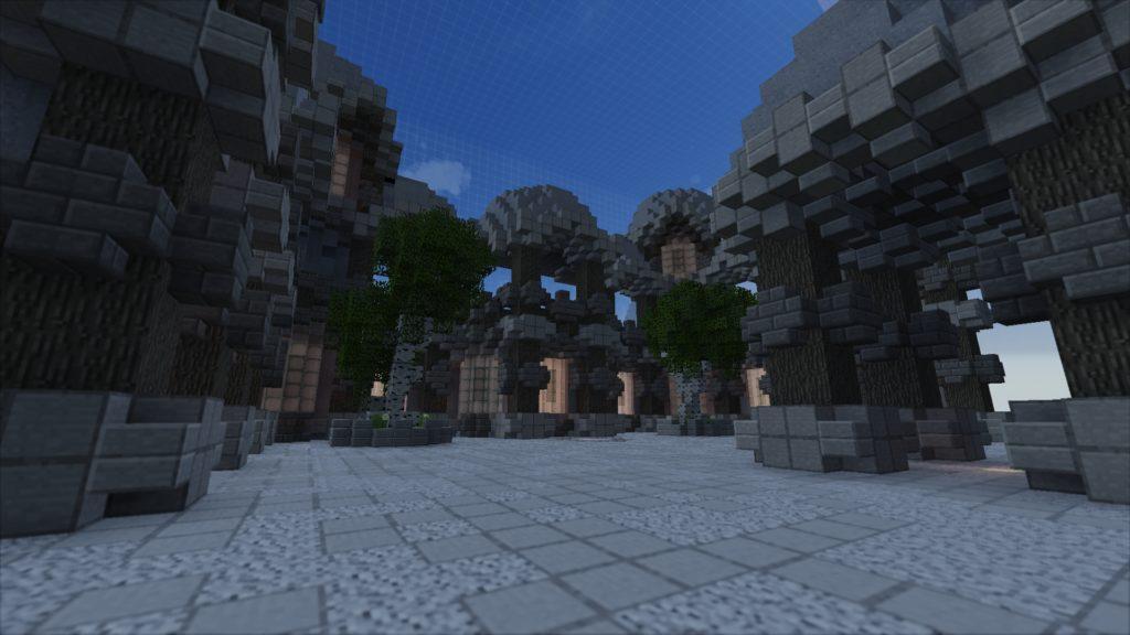 1vs1 Minecraft Minigame Map