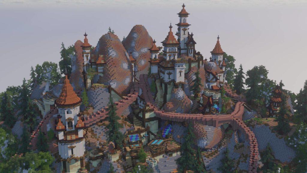 Progressive antique hill city