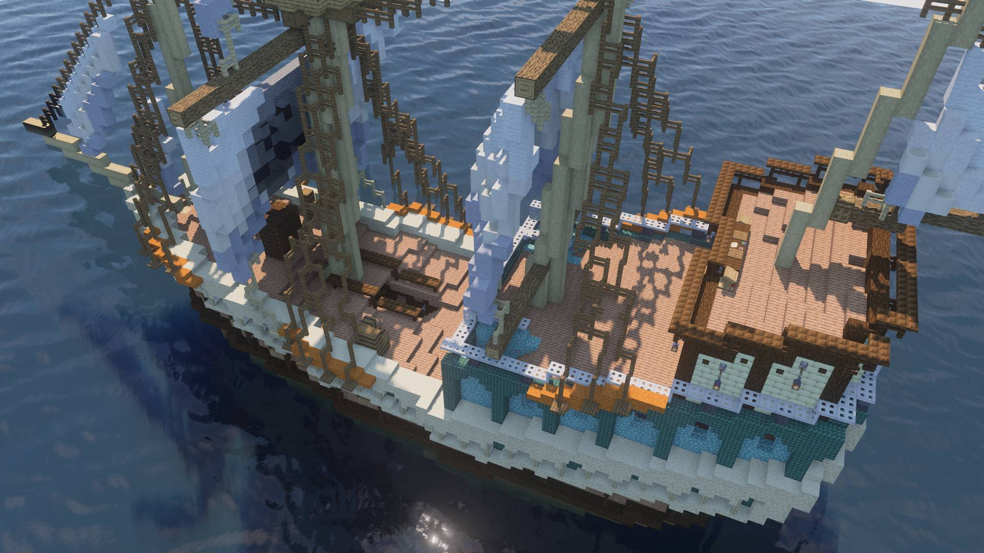 Hijacked Spanish Galleon 5