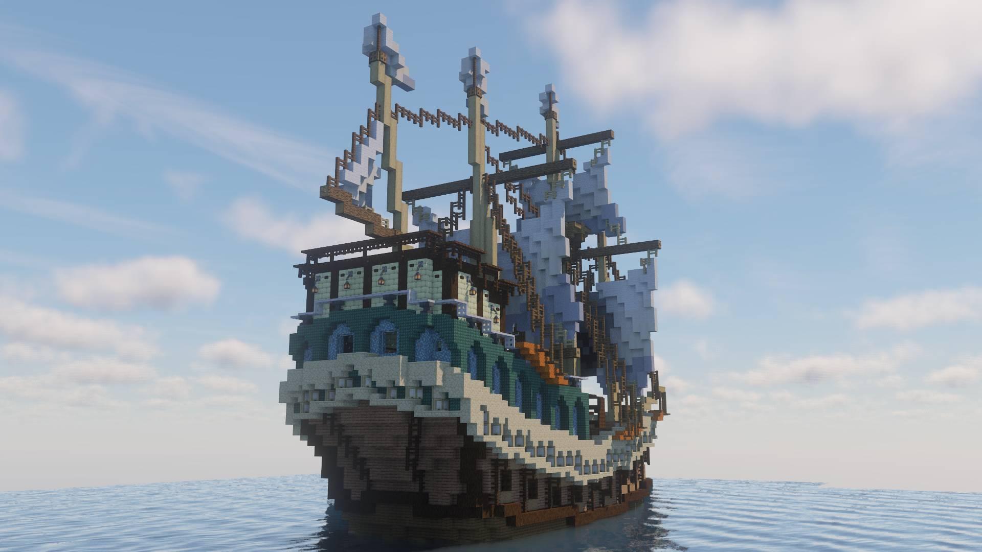 Hijacked Spanish Galleon 6