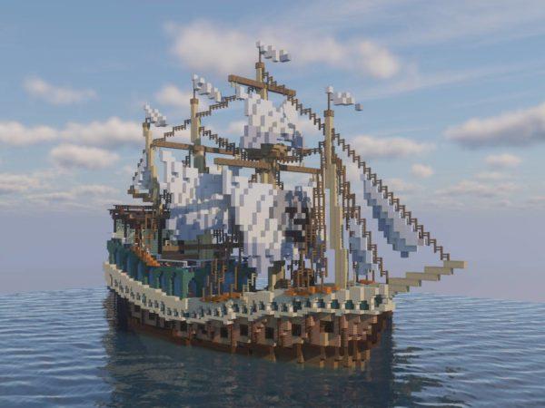 Pireate hijacked Spanish Galleon