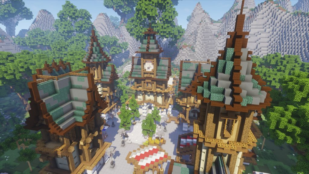 Minecraft Fantasy Medieval Lobby