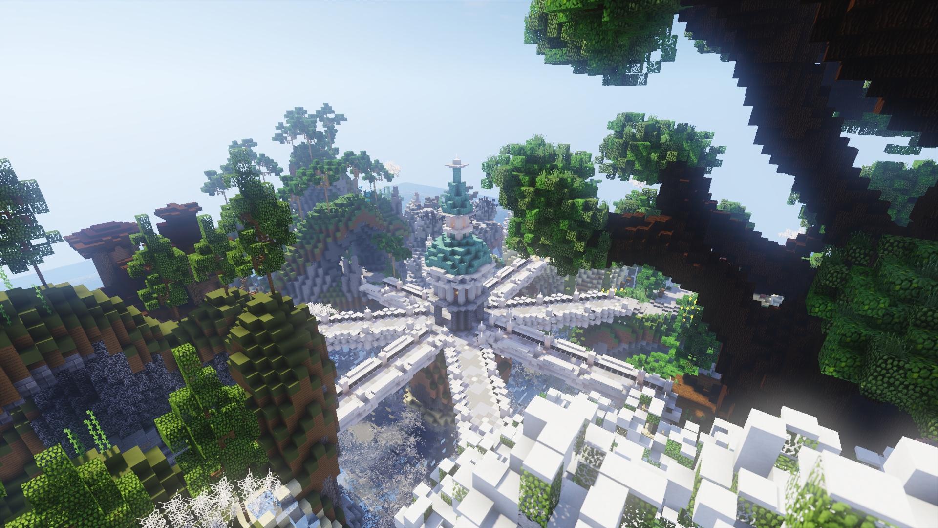 Fantasy stylized islands Lobby