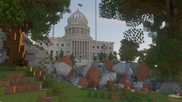 Build The Vote Minecraft project